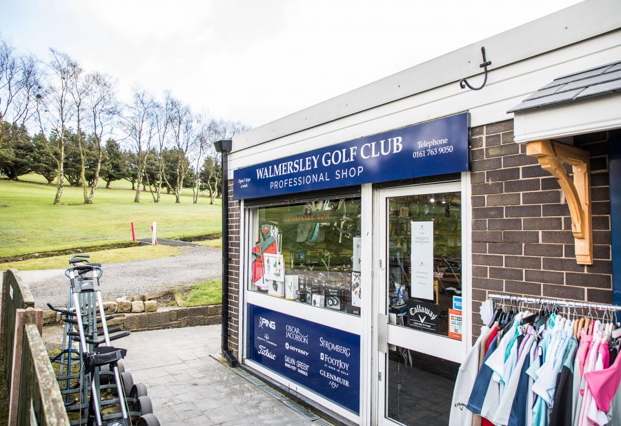 The Walmersley Golf Club shop