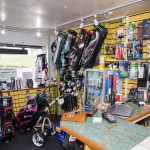 Wide view of the shop at Walmersley Golf Club