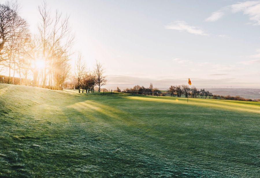 A spring morning at the Walmersley Golf Club
