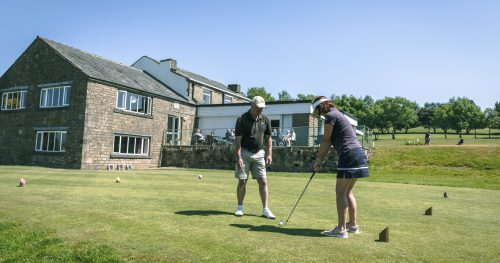 Professional golf lessons at Walmersley Golf Club
