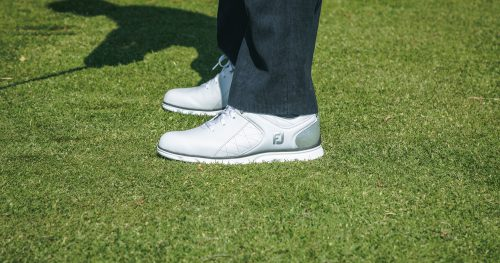 Golf shoes from the golf shop