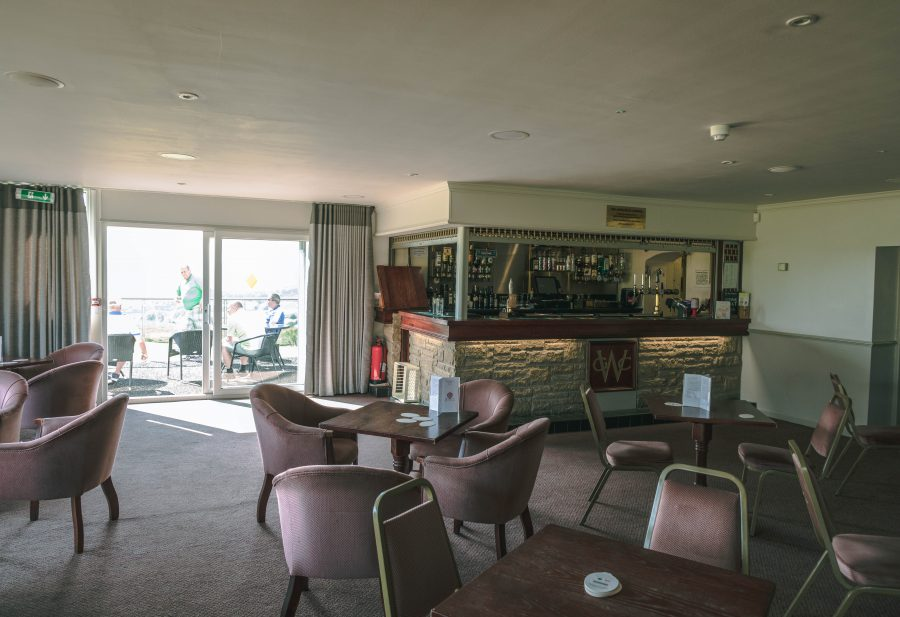 Inside the Clubhouse at Walmersley Golf Club