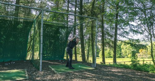 The outdoor practice area at Walmersley Golf Club