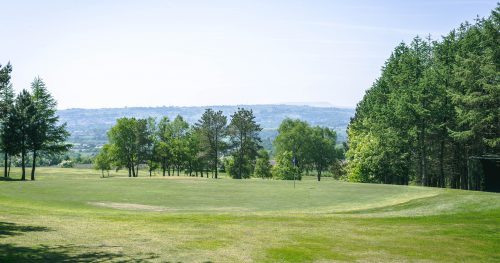 Beautiful view from Walmersley Golf Course